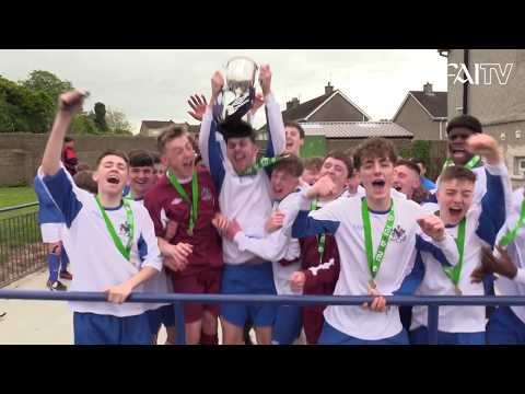 Waterford & District Association Football League seal FAI Umbro Youth Interleague Cup victory