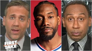 Max: I will 'shut up about Kawhi' if the Clippers lose Game 7 to the Nuggets | First Take
