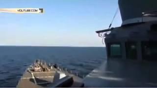 видео Российский Су 24 опять возле американского эсминца Donald Cook