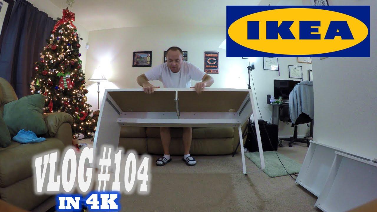 Building The IKEA MICKE Desk! #DeskSetup2015 |4K| (Vlog #104)   YouTube