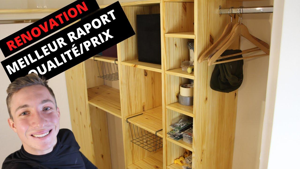 comment fabriquer un dressing d excellent rapport qualite prix renovation appartement