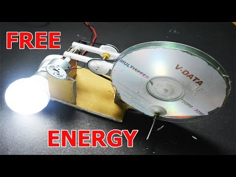 How To Make Free Energy Generator easily at home