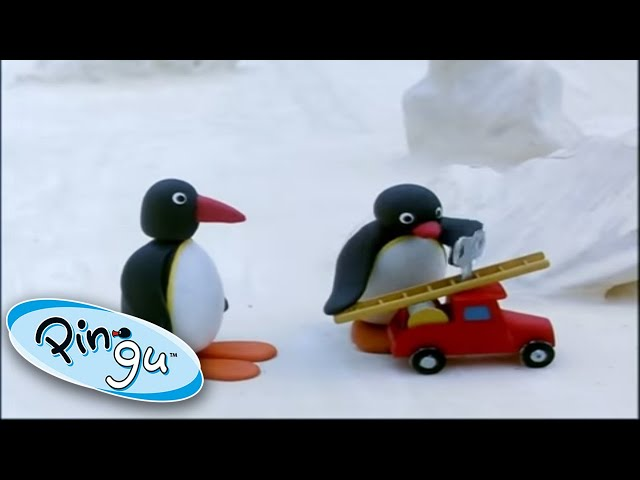 Pingu And The Firetruck! @Pingu - Official Channel   | 1 Hour | Cartoons for Kids