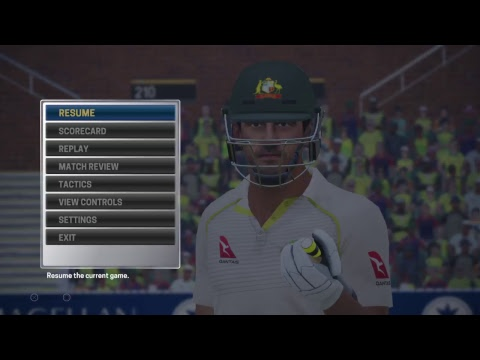 Ashes Cricket Live Stream. 2nd Test. PS4 Play