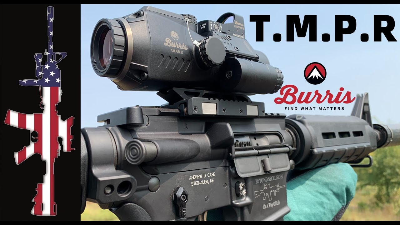 Burris T.M.P.R. - 15 to 500 Yards with an SBR!