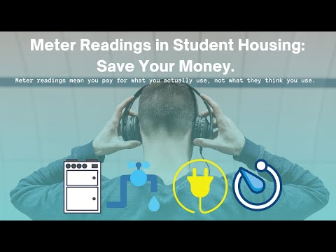 Meter Readings in Student Housing: Ways to Keep Your Bills Down