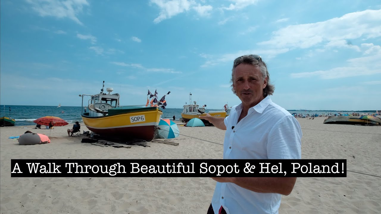 A Walk Through Beautiful Sopot & Hel, Poland's Baltic Coast Gems!