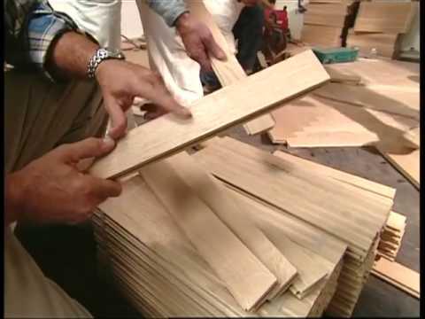 Installing A Herringbone Patterned Floor Youtube