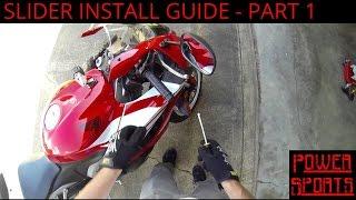 Gambar cover Shogun: Slider Install Guide - Swingarm & Bar End - Honda CBR600RR