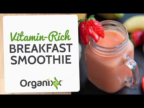 "Vitamin Rich Breakfast Smoothie | ""Recipes with Katrina"" 