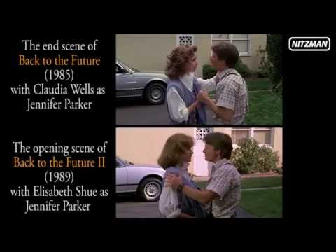Back to the Future 1 + 2 - Comparison (end & opening scene)