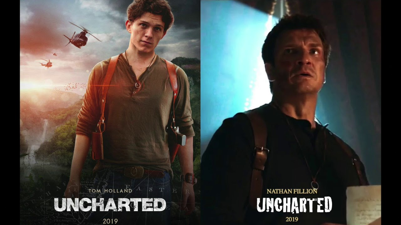 The Uncharted Feud Tom Holland Vs Nathan Fillion Youtube