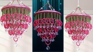 DIY Bangles Wall hanging Idea !!! Amazing Home Decoration Idea || Jhuamr Making