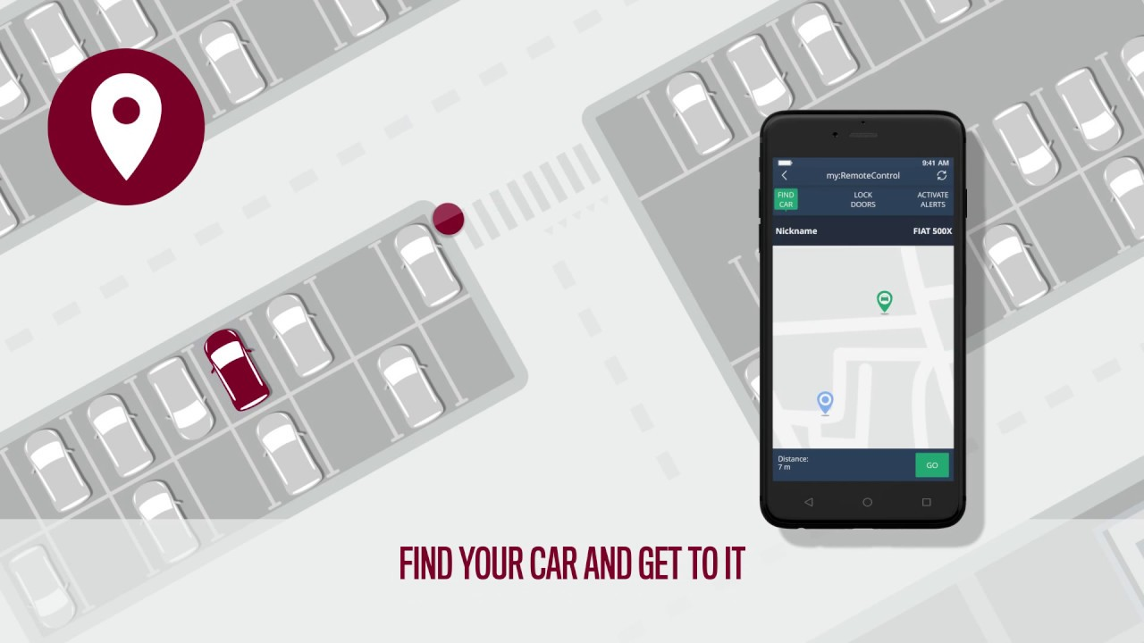 Mopar Connect For Fiat Owners Find Car Youtube