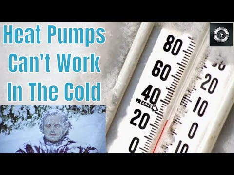 Heat Pumps Can't Work In The Cold