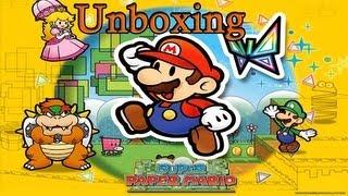 "Nintendo Selects ""Super Paper Mario"" | Unboxing |  México"
