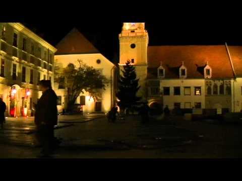 Bratislava in night (JVC GZ-HM335)