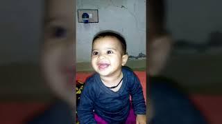 Laughing baby   funny baby   इस बच्चे की प्यारी  हरकत  देखकर आप हस  पड़ेंगे    my2b entertainment