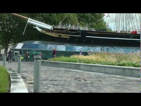 Cutty Sark, A beautiful Tea Clipper from the 1800's. 2012. Greenwich. London HD