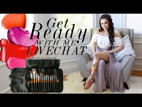 Get Ready With Me| Casual Chit Chat + Makeup Talk Through