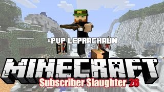Minecraft XBOX 360 Hunger Games Subscriber Slaughter 26