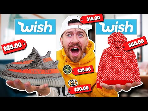 I Bought $1,000 Worth of Hypebeast Clothing From Wish!!