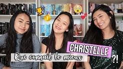 Qui connait le mieux Christelle ?! ft. mes sœurs