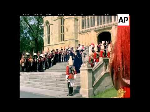 The Garter Ceremony - No Sound - 1981