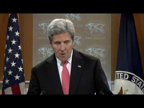 John Kerry's Farewell Press Conference At State Department - Full Event