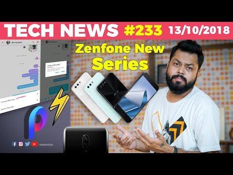 New Asus Zenfone Series,Coolpad Note 8,Poco F1 Update,OnePlus 6T UI Revamp, Facebook Unsend,-TTN#233