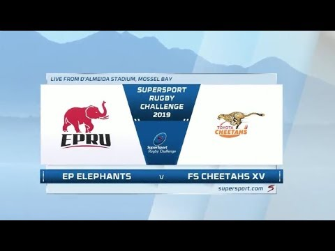 SuperSport Rugby Challenge | EP Elephants vs Toyota Free State XV