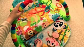 Покупка с AliExpress. Обзор развивающего коврика для детей
