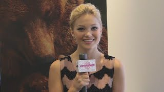 Olivia Holt Talks 'Carry On' at Disney's Bears Exclusive Screening! Thumbnail