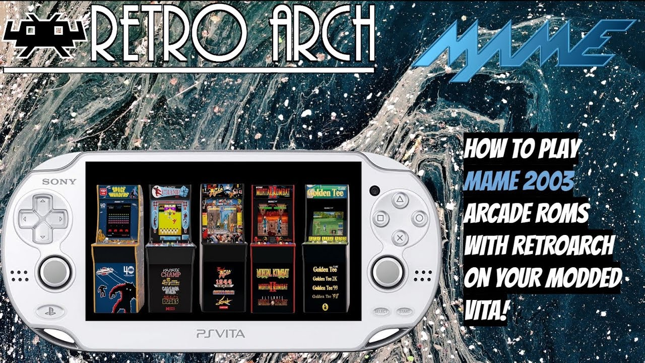 23 92 MB] How To Play MAME 2003 Arcade Roms With RetroArch On Your