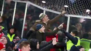 Spartak and Zenit fans / Стычка фанатов Спартак и Зенита