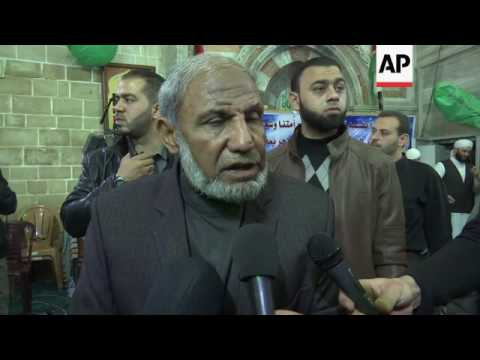 Funeral of Hamas leader found shot dead