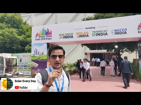 Smart City India Expo 2019, Electric Vehicle , SOLAR energy  , #SustainableEveryDay