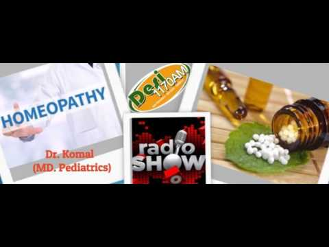 Homeopathy | USA California | Radio Show 1170 AM | Uterine Fibroids | By Dr. KOMAL (MD. Peds, MHA)