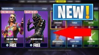 """Cloaked Star Skin"" UPDATE - GIFTING SKINS ITEM SHOP PS4 GAMEPLAY (FORTNITE BATTLE ROYALE)"