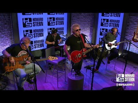 "Sammy Hagar & the Circle ""Finish What Ya Started"" on the Howard Stern Show"