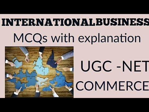 Ugc NET commerce- MCQS on international business unit- how to approch questions