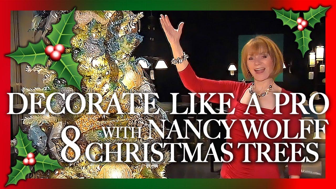 Decorate Like A Pro Pro Christmas Tree Decorating Youtube