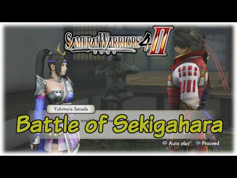Samurai Warriors 4-II: Trials of Trust; Battle of Sekigahara