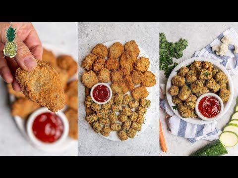 Kid-friendly Vegan Recipes | Chicken Nuggets & Veggie Tots
