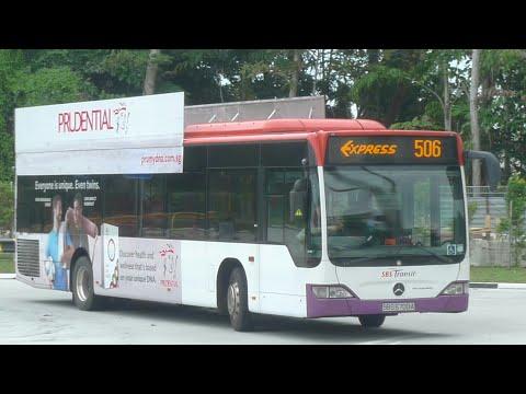 SBS Transit Express Bus Service 506, SBS6072D (Full Trip) (Direction 2)