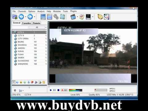 How To Use PCI DVB-S2 TV Card To Watch Satellite TV On DVBDream?