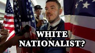 Jason Kessler Runs Away from White Nationalism Question