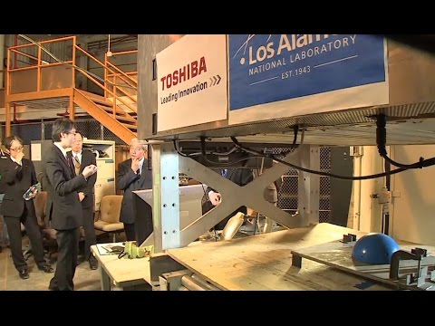 Los Alamos, Toshiba probing Fukushima with cosmic rays