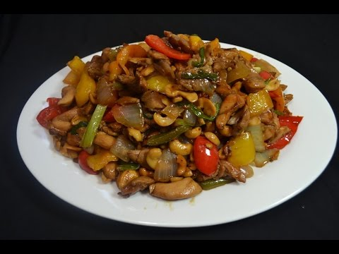 Pollo con semillas de maraones  Comida China  YouTube