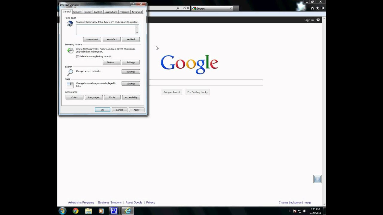 How Do I Get Rid Of The Google Toolbar Internet Explorer